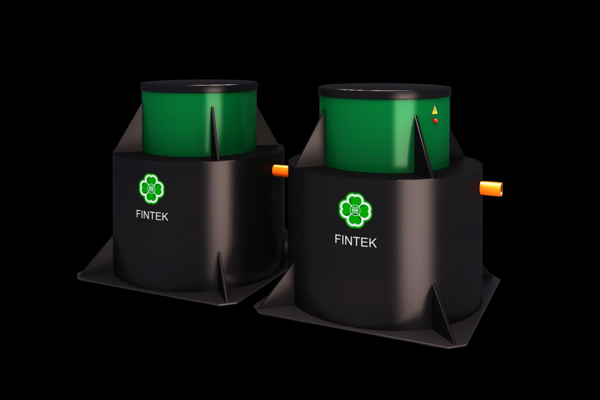 Септик ЭКО-ЕНОТ ФИНТЕК (FINTEK) 2.5